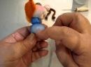 МК мушки с копеечкой в скульптурно-текстильной (чулочной) технике. Автор Елена Лаврентьева (pawy)