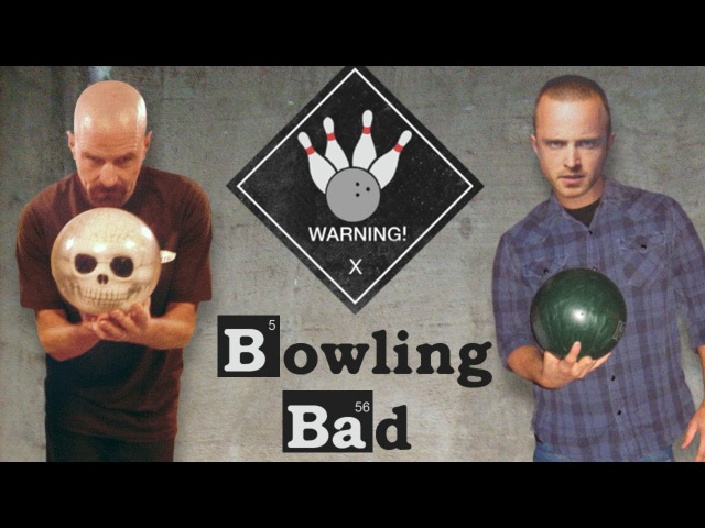 BREAKING BAD: Bryan Cranston Aaron Paul Take on Nerdist - All Star Celebrity Bowling