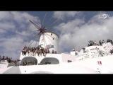 Red Bull Art Of Motion 2015 Free Running Action In Santorini, Greece
