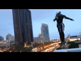 Assassin's Creed 4 Meets Parkour in Real Life - Comic-Con in 4K