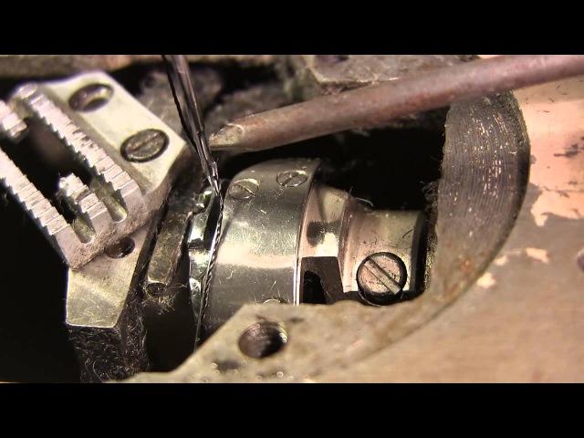 Как настроить швейную машину видео 1, выставляем челнок и иглу