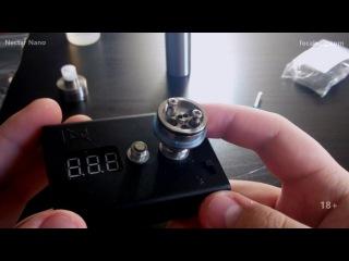 Намотка Nectar Nano под сигаретную затяжку