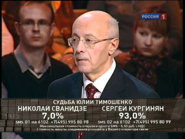 2011.10.12 Исторический процесс. Судьба Юлии Тимошенко: от триумфа до обвинения