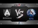 Starladder 10: Alliance vs KPG, русские комментаторы, 28.092.014