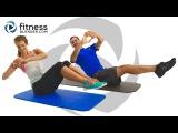 24-минутная домашняя тренировка пресса - Интервальная тренировка для сжигания жира на животе. 24 Minute At Home Abs Workout - Ab Blasting Interval Workout