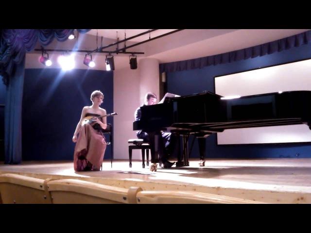 К.Боллинг.Джазовая сюита для флейты и фортепиано (I)