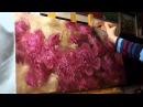 Пионы Олег Буйко Живопись маслом Process of creating oil painting 油畫 油絵