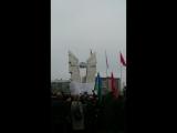 Открытие памятника 6 роте 104 полка 76 Десантно-Штурмовой дивизии.