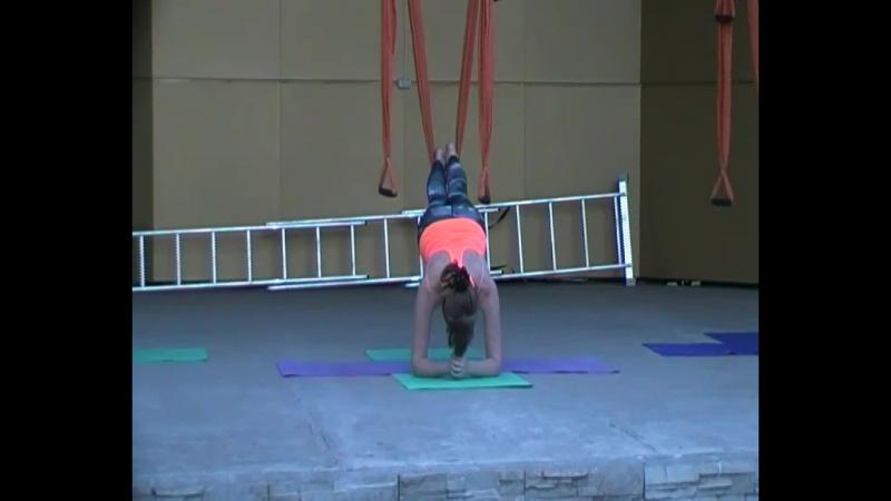 Презинтация Fly yoga в парке Правди, FitRoom