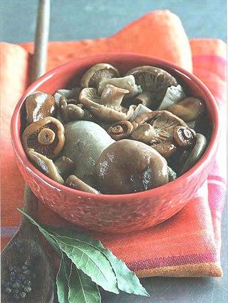 Фото рецепта: Засолка грибов сухим способом.