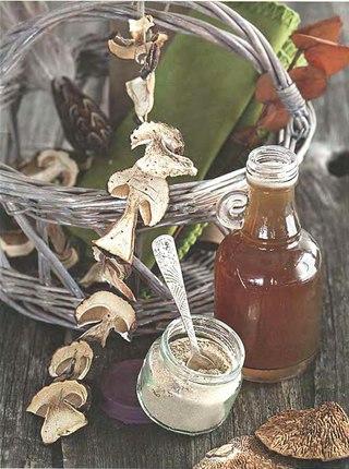 Фото рецепта: Соус из сухих грибов