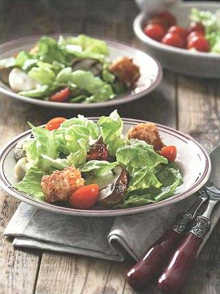 Фото рецепта: Салат с белыми грибами