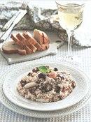 Фото рецепта: Рис с морепродуктами и грибами
