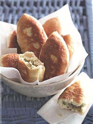 Фото рецепта: Пирожки с груздями