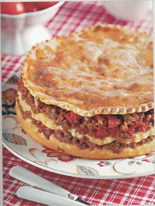 Фото рецепта: Португальский мясной пирог