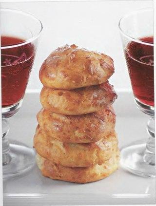 Фото рецепта: Бургундские пирожки с тмином