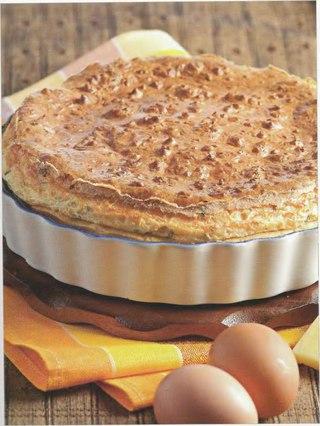 Фото рецепта: Горячий ланкаширский пирог