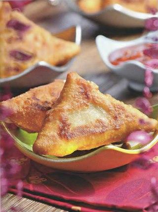 Фото рецепта: Индийская самсона