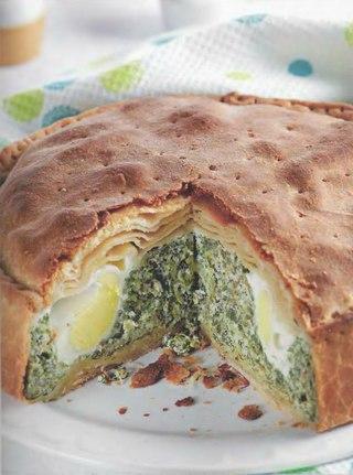 Фото рецепта: Торта паскуалина