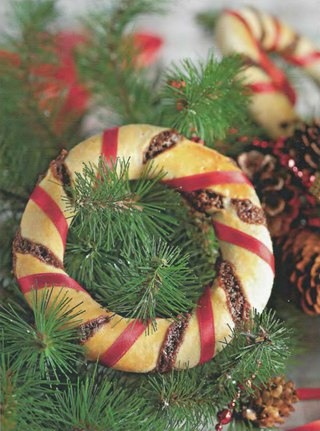 Фото рецепта: Рождественские кольца