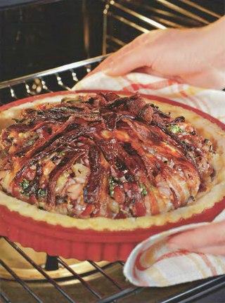 Фото рецепта: Швейцарский слоеный пирог
