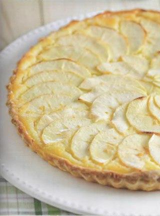 Фото рецепта: Творожно-яблочный пирог