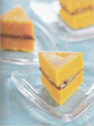 Фото рецепта: Тыквенные пирожные на пару