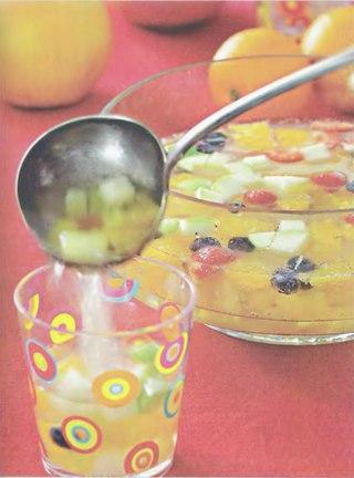 Фото рецепта: Цитрусовый безалкогольный крюшон