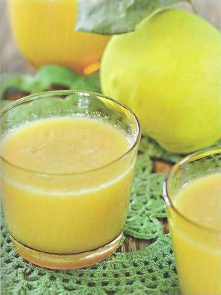 Фото рецепта: Кисель из айвы с медом и белым вином