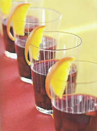 Фото рецепта: Компот из груши с красным вином