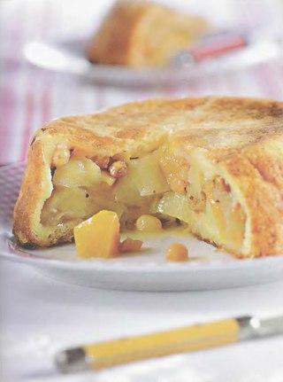 Фото рецепта: Французская яблочная шарлотка