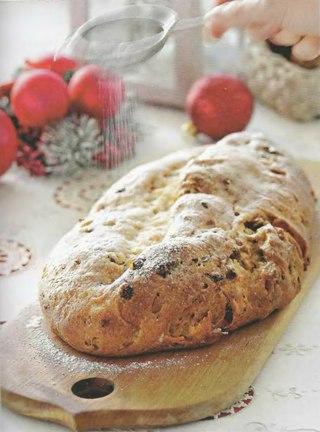 Фото рецепта: Немецкий рождественский штоллен