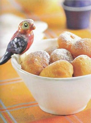 Фото рецепта: Европейские карнавальные пончики