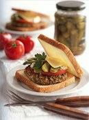 Фото рецепта: Вегетарианские бургеры