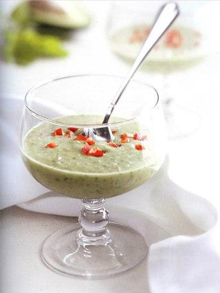 Фото рецепта: Суп из авокадо