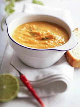 Фото рецепта: Тыквенный суп