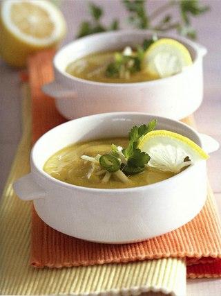 Фото рецепта: Пряный гороховый суп с медом