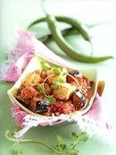 Фото рецепта: Жареные баклажаны с домашним сыром