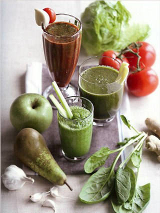 Фото рецепта: Зеленый смузи