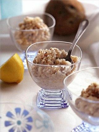 Фото рецепта: Двойной кокосовый рисовый пудинг