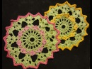 Салфетка Вязание крючком Crochet Napkin