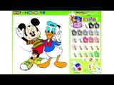 Mickey Mouse сoloring & Раскраска Микки Мауса