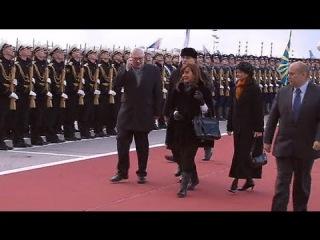 В Москву прибыла президент Аргентины Кристина Киршнер
