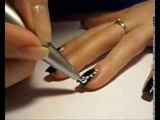 МАСТЕР КЛАСС ! Маникюр с эффектом нарощенных ногтей   Красота и стиль   Секреты красоты   Мода и Кра