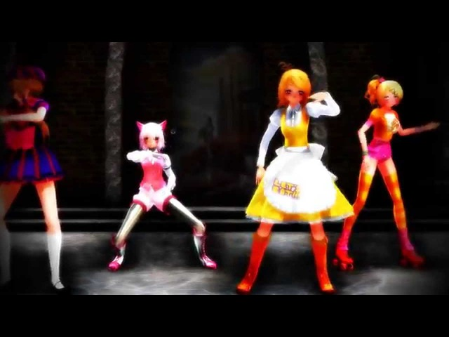MMD{FNAF}Survive the night(Full Female version)