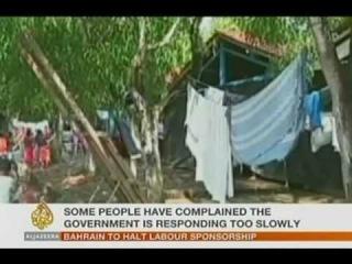 Entrada ao vivo, por telefone, para a rede de TV internacional Aljazeera. Reportagem: Mariana Aldano