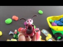 Los Uevos Kinder Sorpresa. Abrimos juntos la docena de Kinder Surprise Eggs. Kinder en Play Doh