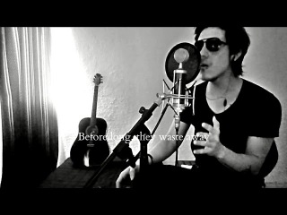 Lessdmv - Dear god (Avenged Sevenfold vocal cover) with lyrics