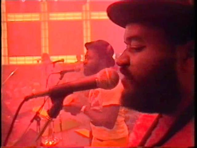 Sly Robbie Taxi Connection live 1986 with Ini Kamoze, Half Pint and Yellowman