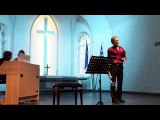 G. Caccini Ave Maria, Gennady Nikonov (trumpet, voice)